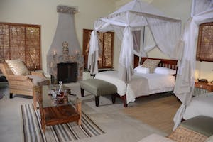 Camelthorn Lodge Bedroom Hwange National Park