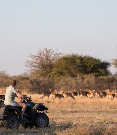 Camp Kalahari Quad Biking
