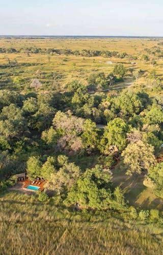 Camp Moremi Flyover