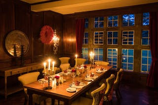 Candlelit Dining At Giraffe Manor