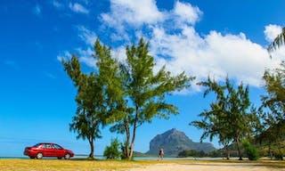 Car And Beach