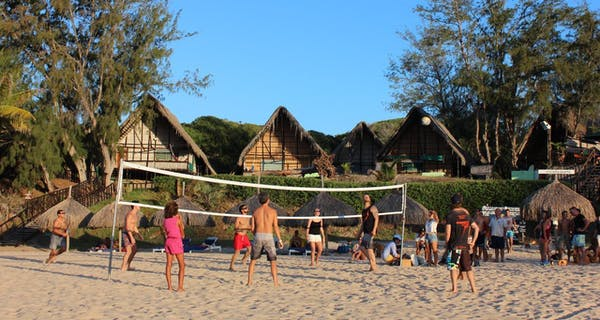 Casa Barry Volleyball