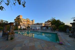 Castle  Bijaipur  Swimming  Pool