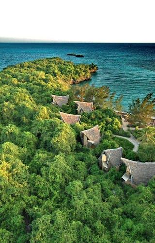 Chumba Island Lodge Layout