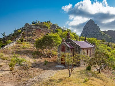 Church On St Helena Island