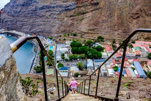Climbing Jacobs Ladder On St Helena Compressed