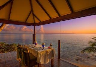 Coco De Mer Hotel Black Parrot Sunset Dining