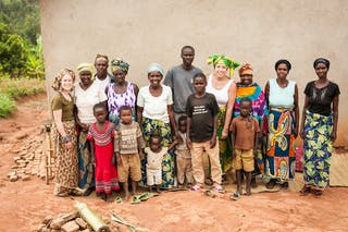 Community Visit In Rwanda