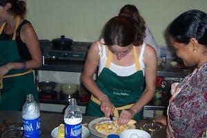 Cooking At  Ayesha  Manzil