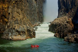 Crossing The Minus Rapids Victoria Falls