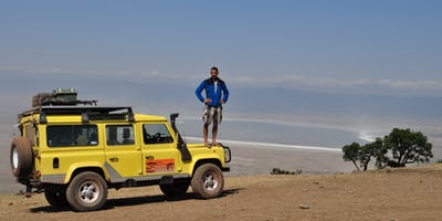 Ben on Self Drive Kenya Safai