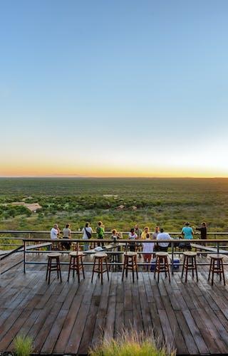 Damara Mopane Sundowner Deck