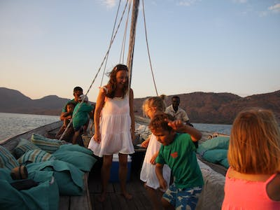 Dancing On The Dhow At Pumulani