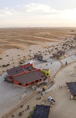 Desert Breeze Lodge Flyover