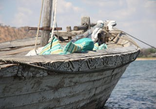 Dhow Sailing At Pumulani