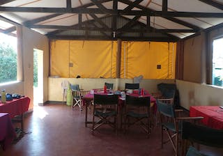 Dining Area At African Impact