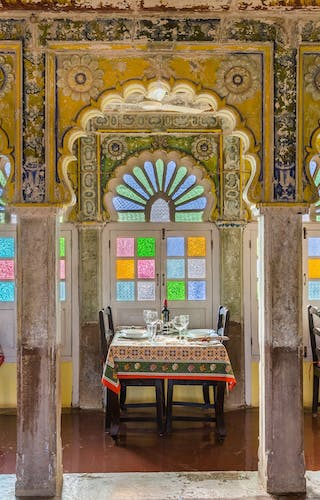 Dining At Chanoud Garh