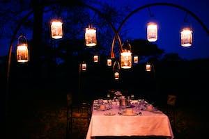 Dinner At Banagi Green Camp