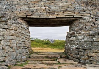 Doorway At Great Zimbabwe