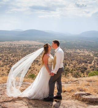 Dramatic Views At A Saruni Samburu Wedding