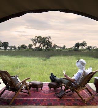 Duba Expediton Camp Seating View