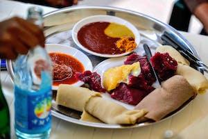 Ethiopian  Food  Etb