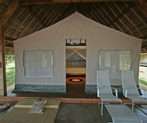 Eden Lodge Tented Room
