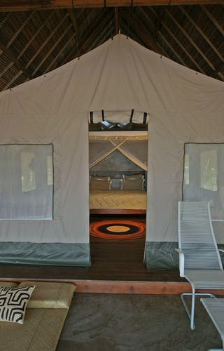 Eden Lodge Tented Room