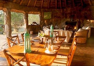 El  Karama  Cental Dining Area