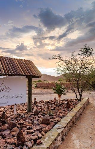 Elegant Desert Lodge Main
