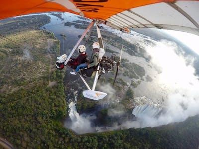 Eva Micro Lite Flight Over Vic Falls