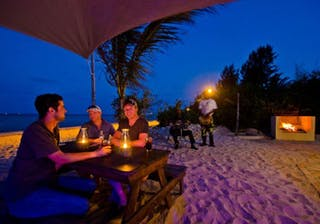 Evening On The Beach At Casbah In Vilanculos