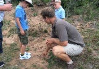 Examining Animal Tracks