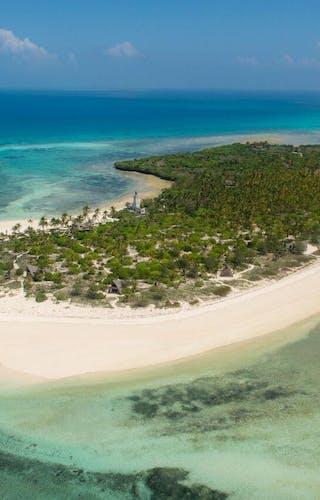 Fanjove Island Aerial