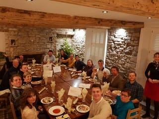 Far Wild Christmas Dinner At The Greyhound In Shap