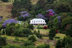Farm Lodge Aerial View