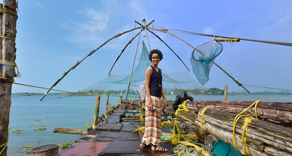 Fishing Chinese Style In Cochin