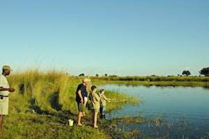 Fishing At Young Explorers In Botswana