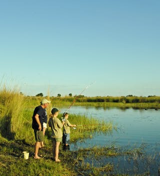 Fishing At Young Explorers In Botswana
