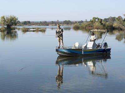 Fishing On The Zambezi At Thorntree River Lodge