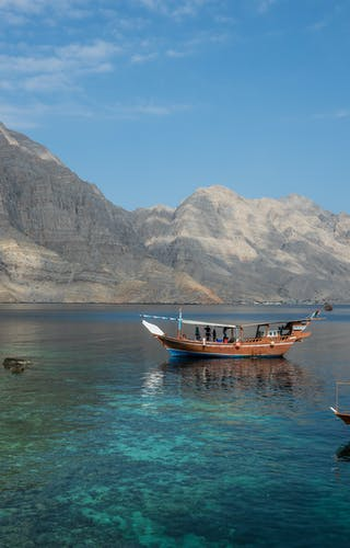 Fjords At Khasab In Musandam Oman