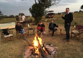 Fly Camping With El Karama