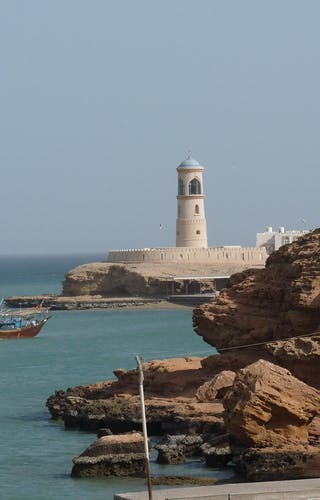 Fortress In Sur In Oman