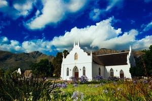Franschhoek Church Winelands Of South Africa
