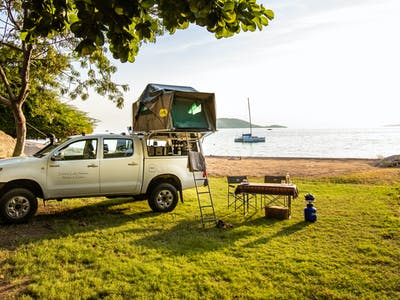 Fully Kitted Out Hilux Perfect For Self Driving In Malawi