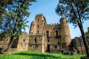 Gondar  Castles  Etb