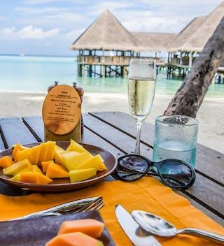 Gili Lankanfushi Beach Breakfast