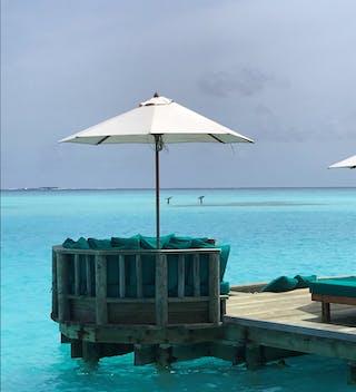 Gili Lankanfushi Overwater Bar For Lunch