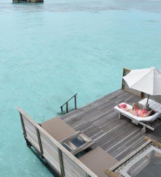 Gili Lankanfushi Relaxing On My Villa Deck