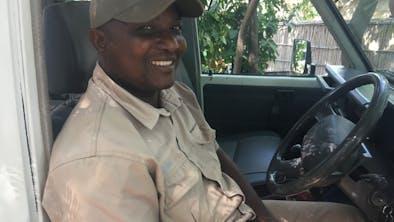 Godfrey Astronomer Guide At Pumulani In Zambia